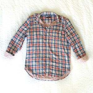7 for all Mankind button down shirt pink medium